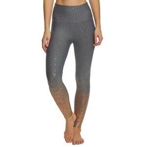 Beyond Yoga Alloy OmbreHigh Waisted Midi Leggings